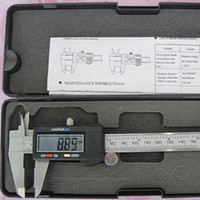 Wholesale 150 mm inch LCD Digital Vernier Caliper Micrometer Guage