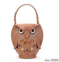 cheap beach bag - Women s Owl handbag beach bag Cheap Animal Casual fashion shopping bag Retro party bag