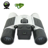 Wholesale 10x25 K Pixels Digital Binocular Telescope hidden camera DV DVR dropshipping retail