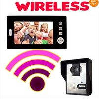 Wholesale Wireless inch Photo Memory video intercom door phone system