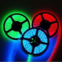 Wholesale Flash RGB M LED Flex SMD Strip amp key IR Remote ControlLer V DCR LED Light
