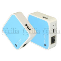 Wholesale TP LINK TL WR703N Mini External N Mbps WiFi G Mobile Broadband Wireless Router