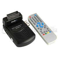 Wholesale Scart Interface DVB T Digital Terrestrial Receiver with USB PVR Remote Control CN145663