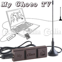 Wholesale Chocolate Style USB DVB T Digital TV Receiver with Portable Antenna for PC Laptop CN145653