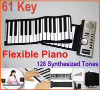 Wholesale Portable Flexible Piano Key Piano Digital Roll Up Different Synthesizer with Soft Keys pc