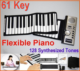 Wholesale Portable Flexible Piano Key Piano Digital Roll Up Different Synthesizer with Soft Keys Electronic Keyboards