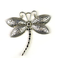 Wholesale dragonfly charm pendant without stones PT