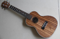 Wholesale newly handcrafted solid koa ukulele guitar whole w aquila