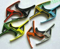 Wholesale Mixed Color Guitar Quick Change Clamp Key Capo For Guitar Parts