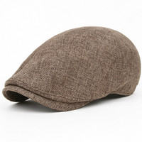 Cheap Red beret Best Yarn Dyed Military linen beret hat
