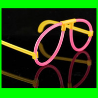 Wholesale Glow Stick Glasses Frame Flashing Stick Glasses Frame For Star Party Festival Supplies PT12A