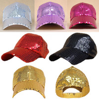 Wholesale NEW Unisex SEQUIN NEWSBOY Baseball Ball Cap Hip Hop Dance Show Party Hat