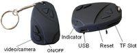 None No Mini Spy covert+pinhole camera 808 Keychain Camera Spy car key camera Mini DV DVR Digital Video Recorder factory price 100pcs lot