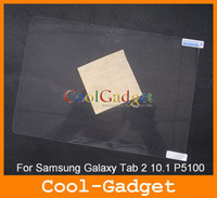 Wholesale screen Protector protection for Samsung Galaxy Tab P5100 No Retail Package MSP472