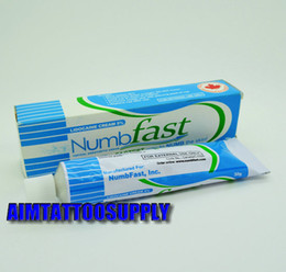 Wholesale Numb fast g tubes tattoo numbing cream Numb Cream Anaesthetic for Tattoo Body Piercing