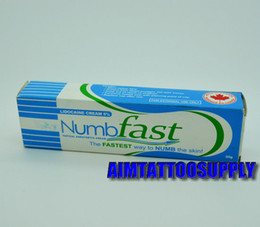 Wholesale Numb fast g Anesthetic tattoo numbing cream tattoo numb for tattoo body hot sale