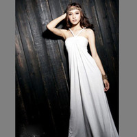 Wholesale 2013 cotton solid color halter sleeveless dress sexy slim formal wear three color evening gown dress