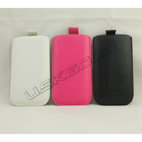 for Galaxy S3 S III i9300 PU Soft Leather Pouch Patterns Whi...