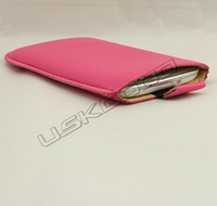 High Quality PU Soft Leather Pouch for Galaxy S3 S III i9300...