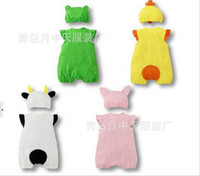 3-6 Months clothing store - Summer Baby Clothing Baby One Piece Romper Cap Set suit Cheap Baby Product Store Baby Wears RT99