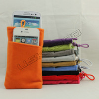 Fabric Phone Bag for Galaxy Nexus i9250 Multi- function Card ...