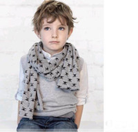 Wholesale Child Baby baby Scarves Double Skull Scarves Shawl Printing Family Scarves wfeif dandys