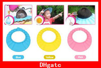 Wholesale Fashion Shampoo Shield Hat Baby Child Kid Shampoo Bath Shower Wash Hair Shield Hat Cap