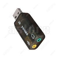 Wholesale 10 USB to D AUDIO SOUND CARD ADAPTER VIRTUAL