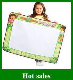 Promotion l'eau de toile stylo New USA Aquadoodle Doodle toile Jouets pour enfants Magic Pen Dessin Eau Remplacement 60 * 90cm Livraison gratuite