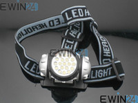 Super Bright 19 LED Headlamp Torch Headlight Light Lamp Bulb...