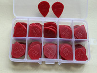 Wholesale 100 piece Guitar Picks vintage Jim Dunlop Jazz III guitar pick new stock hard red small cool