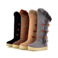 Wholesale 2011 fashion designer shoes quality grind arenaceous flocking senior eleusine indica snow boot