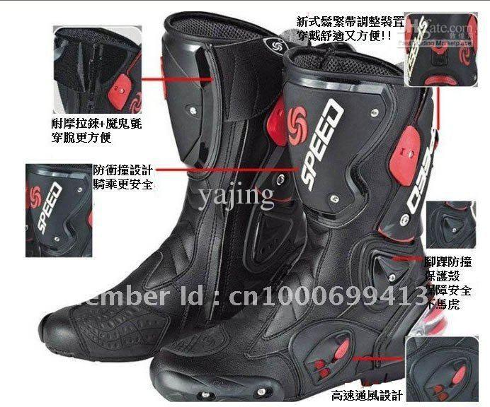 Online Cheap Motorcycle Boots Speed Bikers Racing Boots,Motocross ...