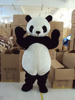 Wholesale Brand New cartoon panda Mascot costume Adult Size children kid gift toy free fast ship
