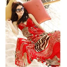 2017 Free Shipping summer Women's Dresses Maxi Long Bohemia Dresses leopard 3 color Beach holiday dress
