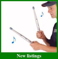 Metal air free drumsticks - Popular Rhythm Sticks Electronic Drum Sticks Air drumstick Novelty Men Gifts