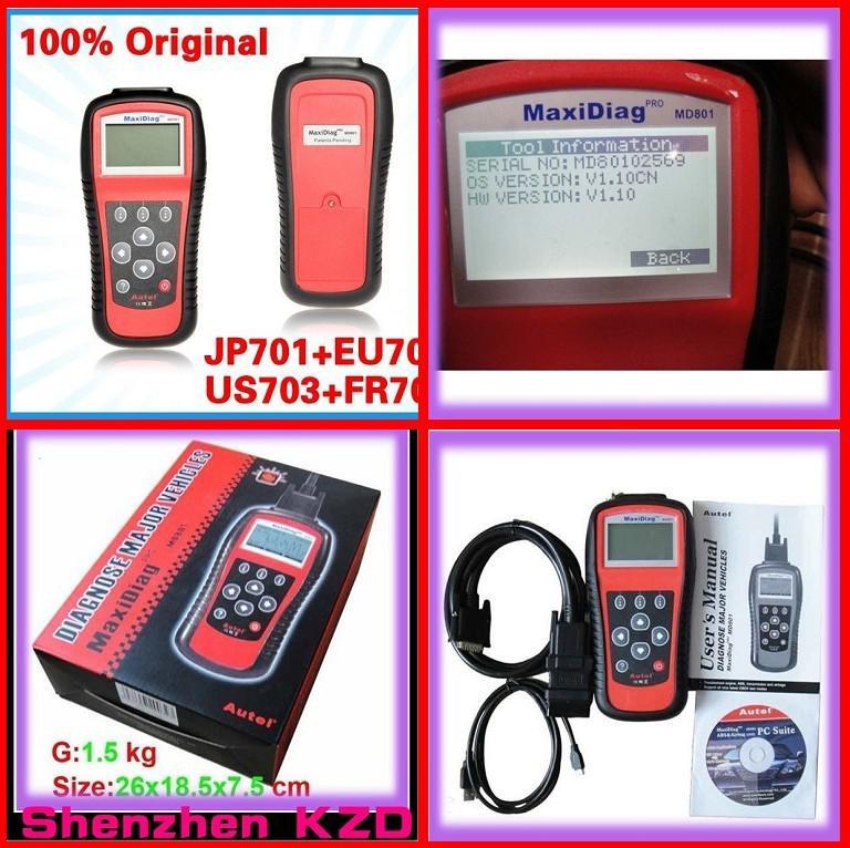 maxidiag pro md801 software