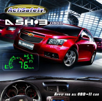 Wholesale High quality Multi Car Hud HUD Head Up Display ASH Fuel Consumption Speed