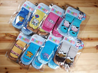 Wholesale Children s non slip floor socks Animal baby toddler shoes Baby floor shoes Children s Socks