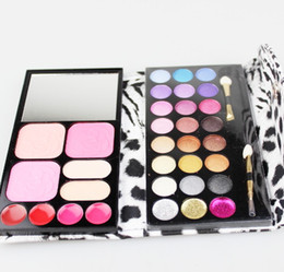 Wholesale 13pcs color Eyeshadow color Blush Lipstick Foundation Makeup Palatte Make Up Kit