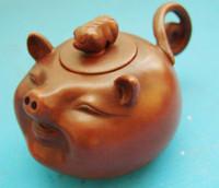 Ceramic antique pottery ceramics - Wonderful Antique Chinese YIXING Pottery Teapot