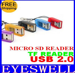 free shipping Thumb High Speed Memory Card Reader for Micro SD T-Flash TF