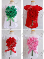 Wholesale 5pcs cute baby girl s Children flowers Short Sleeve T Shirt Beautiful Tutu Shirts