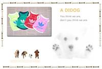 estilos de primavera e verão roupas para animais de estimação T-shirt do bebê do cão Pet tamanho colete SML XL XXL 100pcs / lot