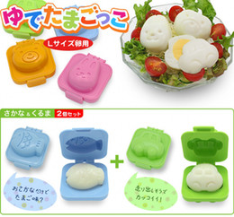 free shipping 6 designs Sushi Rice Mold Mould Seaweed Cutter Bento plastic cake chocolate