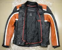 Jackets Leather Windproof Men's Classic Cruiser genuine Leather Jacket(98118-08VM),motorcycle jacket