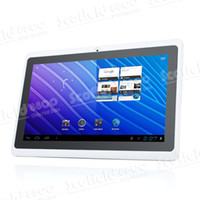 Wholesale 7 quot Capacitive Screen Android Tablet PC F1 ALLwinner A13 GHz WiFi G Camera Ebook Reader MID