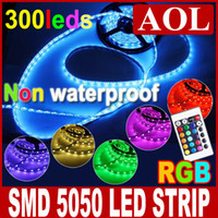 Wholesale Original price promotio RGB SMD Non waterproof m LED Strip Light Good quality IR Remote