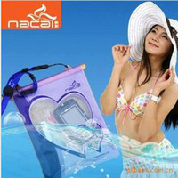 Wholesale WATERPROOF BAG DRY CASE FOR MOBILE CELL PHONE WATERPROOF PHONE POUCH Multi functional waterproof