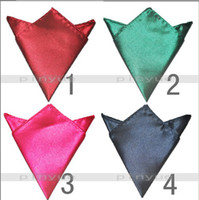 Wholesale Pocket square silk Hankerchief pure kerchief mocket men s mocketer noserag pocket handkerchief tobe